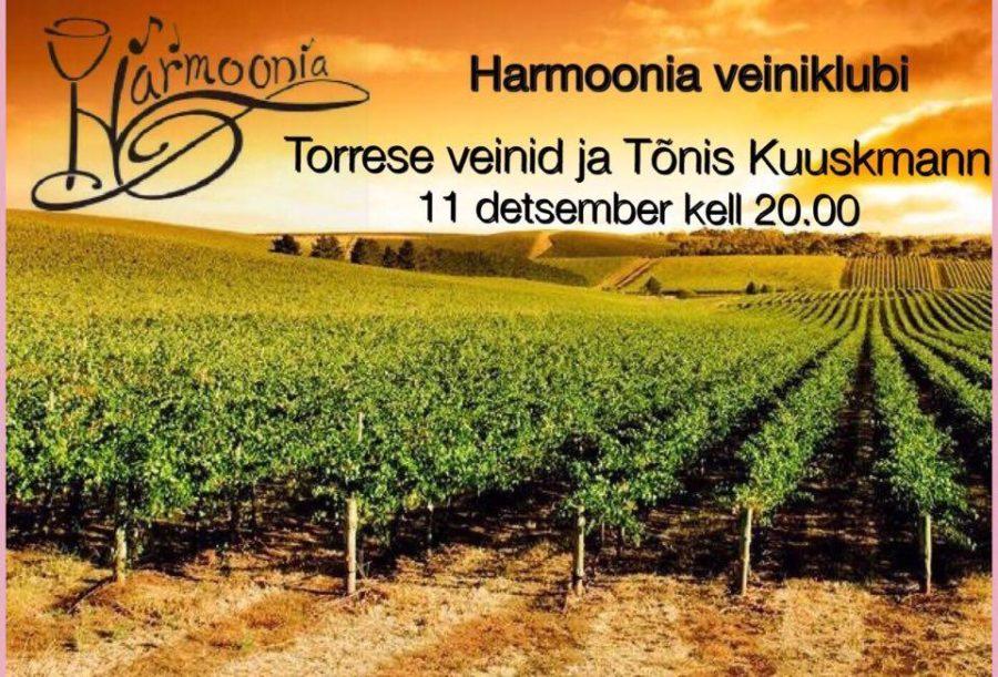Harmoonia veiniklubi 11.12.2015